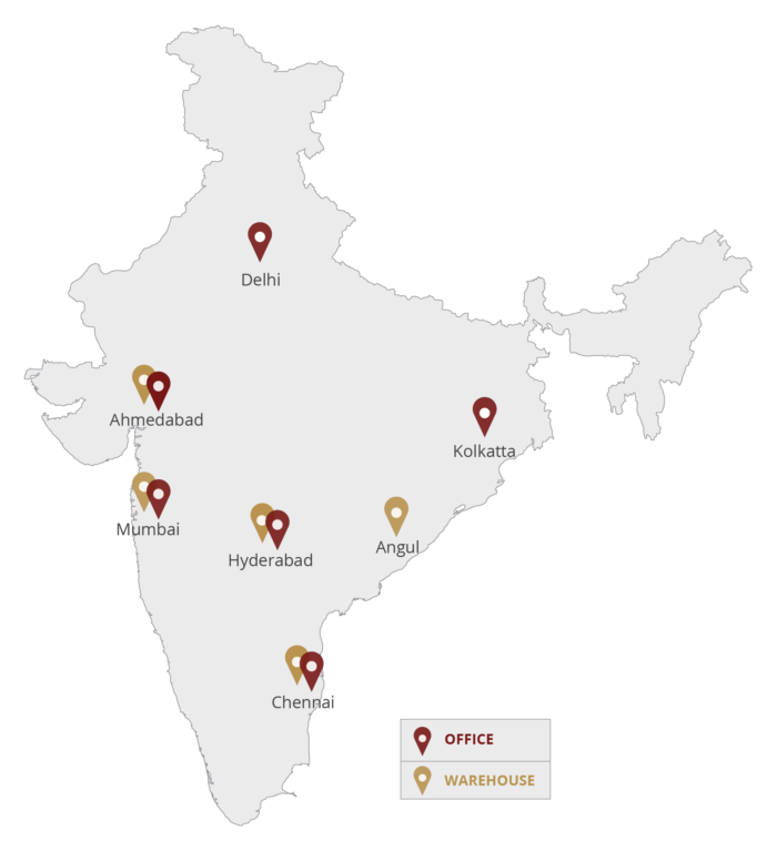 Shah Brothers Ispat Locations